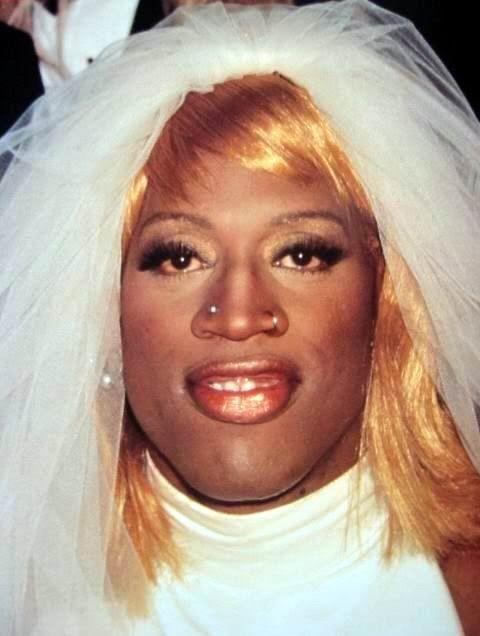 Dennis Rodman Wedding Dress | Dennis Rodman Wedding Dress