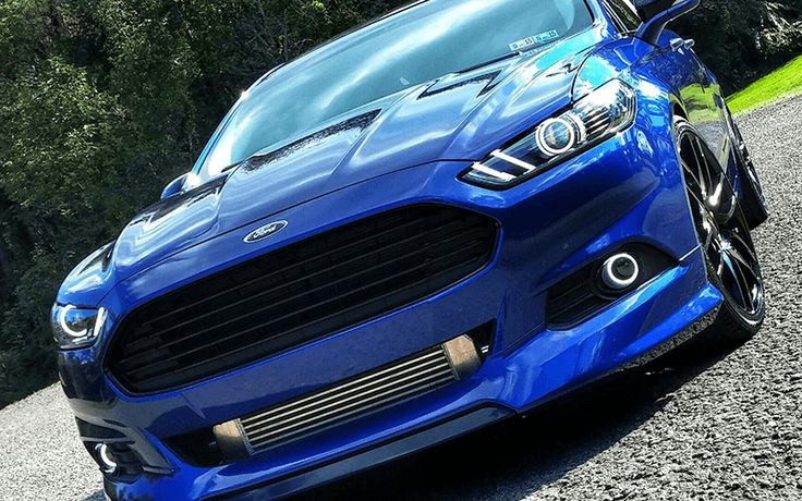 "Gary's ""Blue Lady"" Ford Fusion"