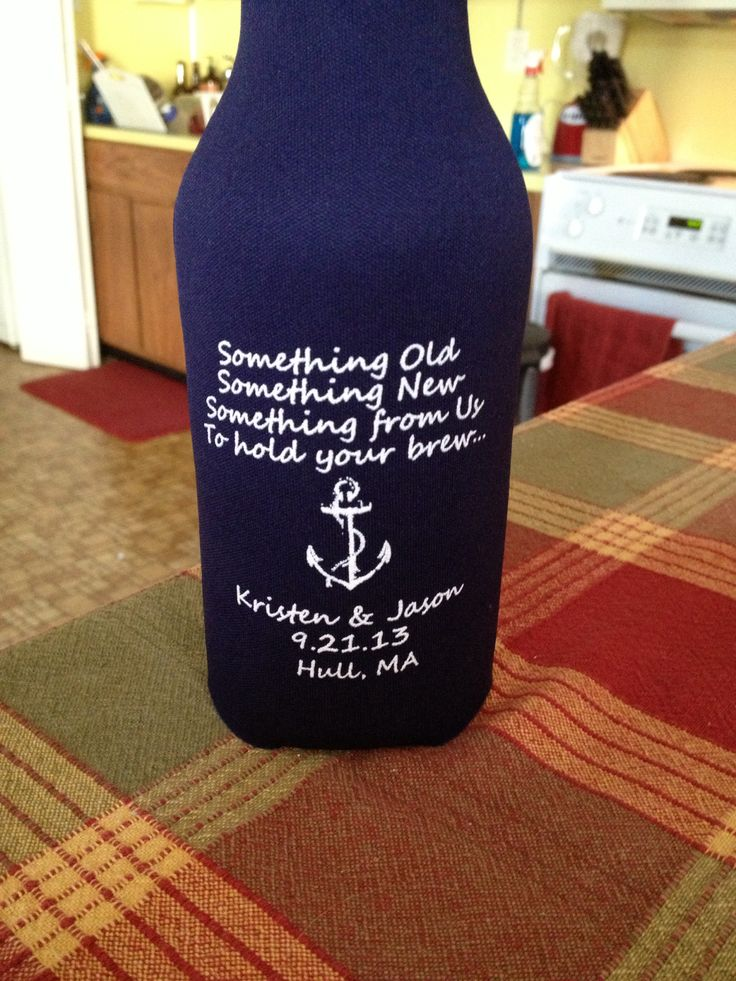Wedding Favor Koozies