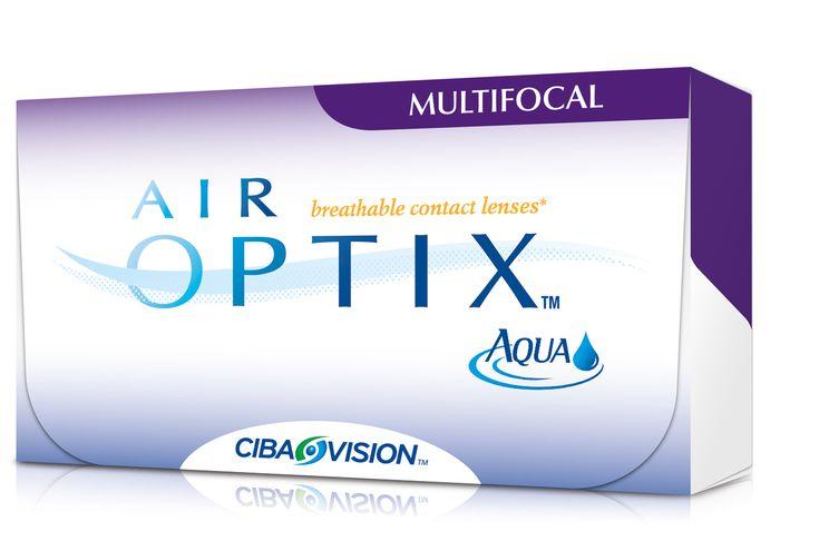 AIR OPTIX AQUA MULTIFOCAL 3pack - 32.40€ - Μηνιαίοι πολυεστιακοί μαλακοί φακοί επαφής σιλικόνης υδρογέλης της Alcon-Ciba Vision. Επιτρέπουν μέχρι και 5 φορές περισσότερο οξυγόνο διαμέσου του φακού σε σχέση με τους παραδοσιακούς μαλακούς φακούς και έτσι μπορείτε να τους φοράτε με άνεση από το πρωί μέχρι το βράδυ. Είναι κατασκευασμένοι χρησιμοποιώντας τη μοναδική τεχνολογία TriComfort που προσφέρει υγιεινή και φυσική αίσθηση, άνεση όλη μέρα και καθαρή όραση.