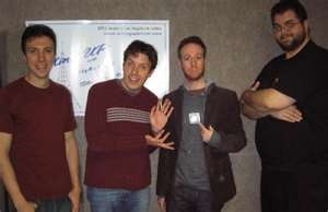 In Studio with actors John Ross Bowie and Kevin Sussman 01-06-10 in In ...