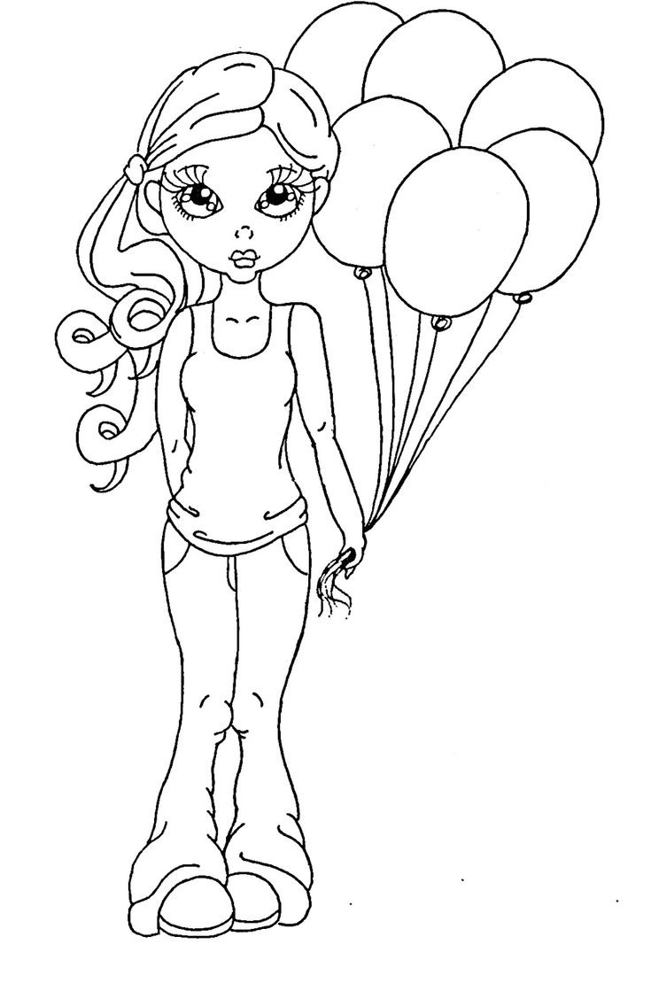 3 marker challenge coloring pages | 267 best Digital Stamps - Saturated Canary images on ...