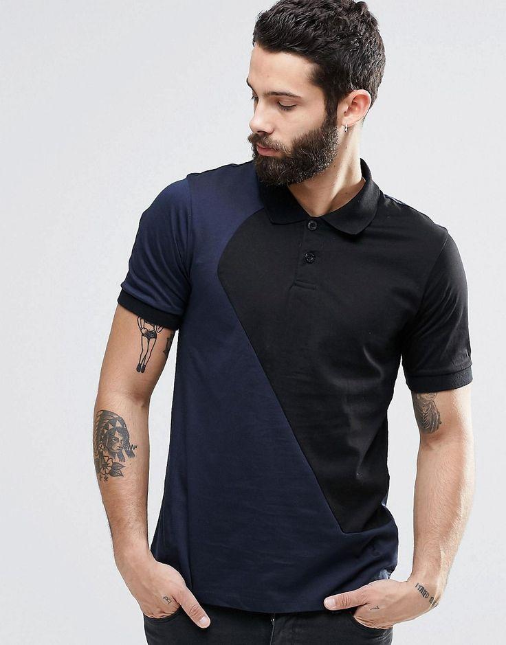 Religion+Cut+&+Sew+Polo+Shirt