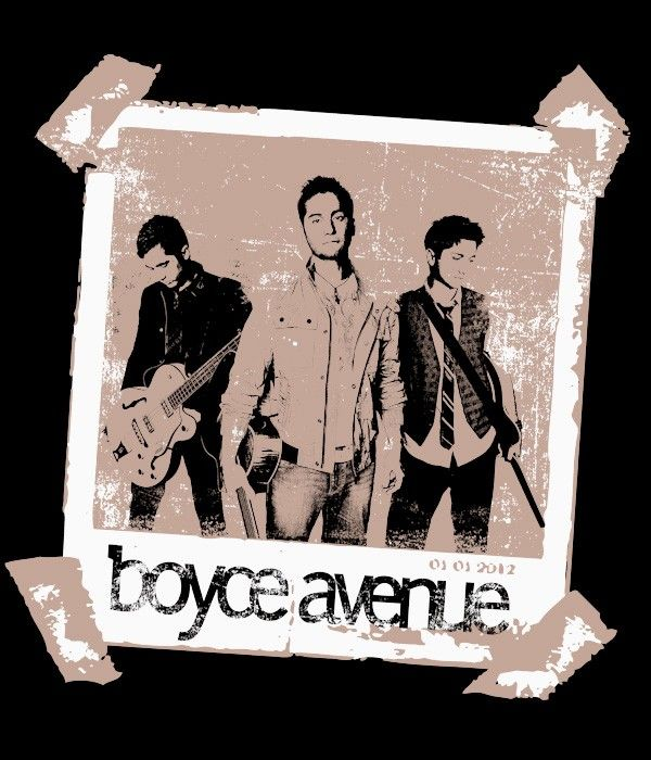 Boyce Avenue, cover bands are generally cheesy but I like them!