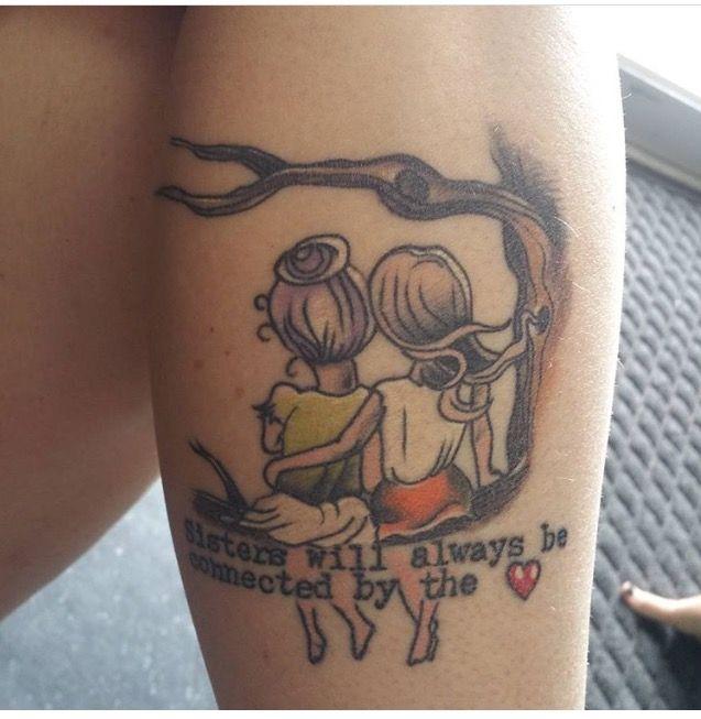 Schwester Tattoo-Idee für Natalie