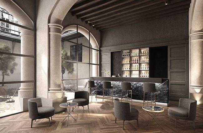 Hotel Sant FRANCESC Mallorca - open kitchen inspiration
