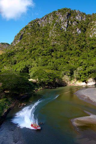 Sigatoka river, in the Fijian highlands