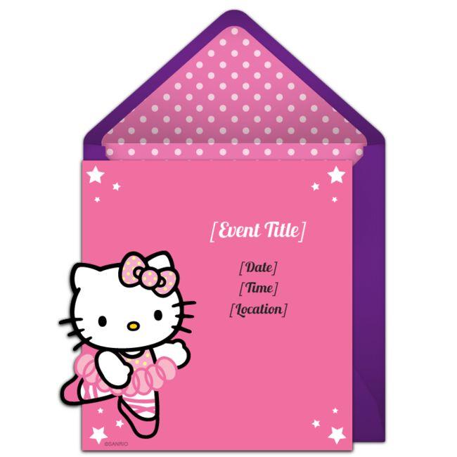 82 best hello kitty birthday ideas images on pinterest | hello, Invitation templates