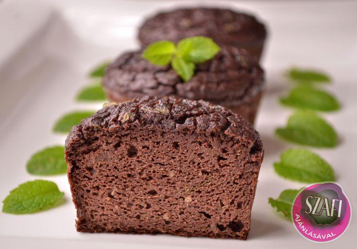 Diétás Glutén- és Tejmentes szénhidrátszegéyn After Eight Muffin