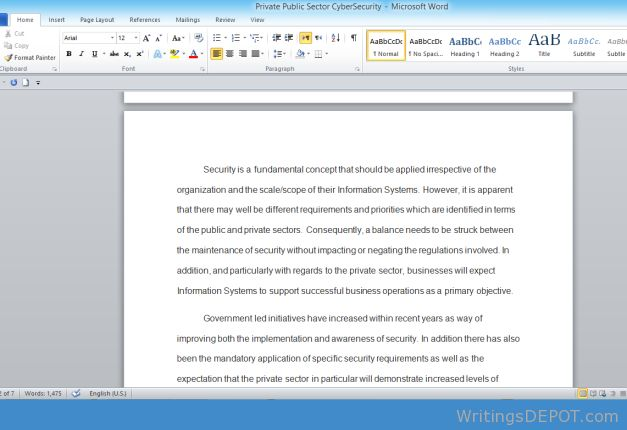 A Positive Concept Essay