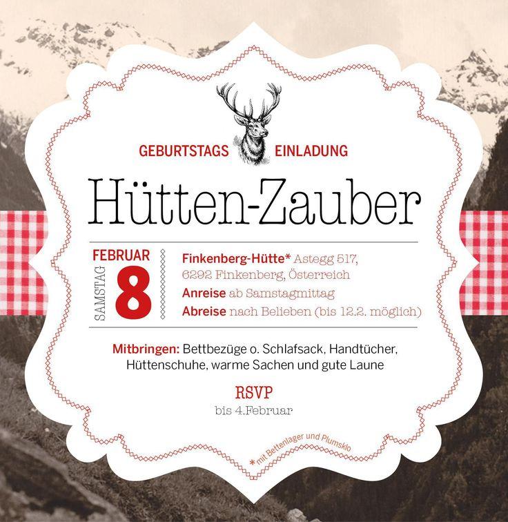 25+ best ideas about geburtstag einladung vorlage on pinterest, Einladung