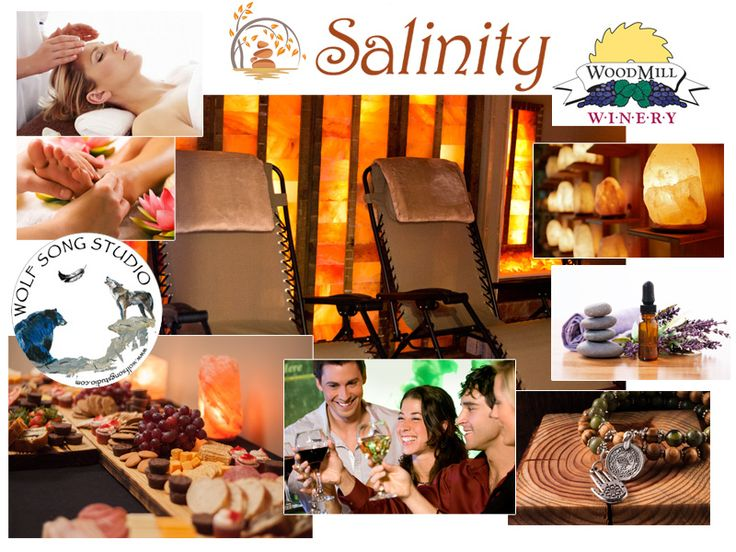 FindSerenityNaturally at Salinity. Your ultimate Salt Therapy experience. Located in the heart of Hickory, Salinity is an urban oasis dedicated to your experience. With holistic treatments and a plethora of self-care knowledge, they bring the spirit of wellness through the healing and therapeutic touch of their talented therapists and knowledgeable instructors.   #Art Exhibit #ribbon cutting #salt therapy #Woodmill Winery