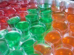 Receta fácil de Jello Shots: Como hacer chupitos de Gelatina y Alcohol Americanos