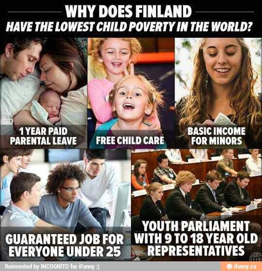 But here in America the youth is not important. This is the difference of ideas of what the greater community should do for feature.
