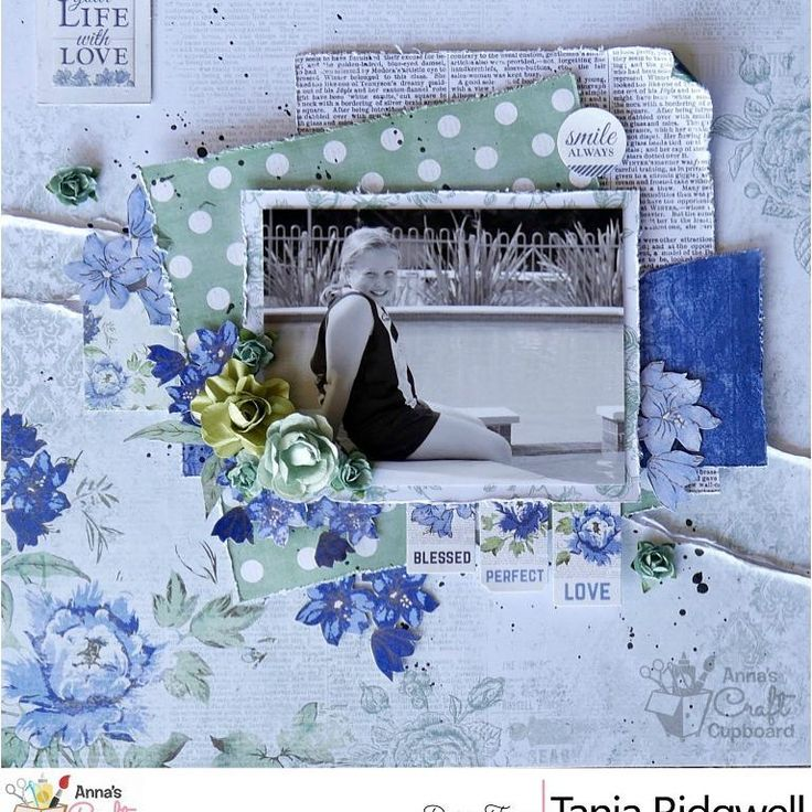 """28 Likes, 1 Comments - Anna's Craft Cupboard (@annascraftcupboard) on Instagram: """"It's December :O and to start the month off we have some stunning layouts to share from Tania…"""""""