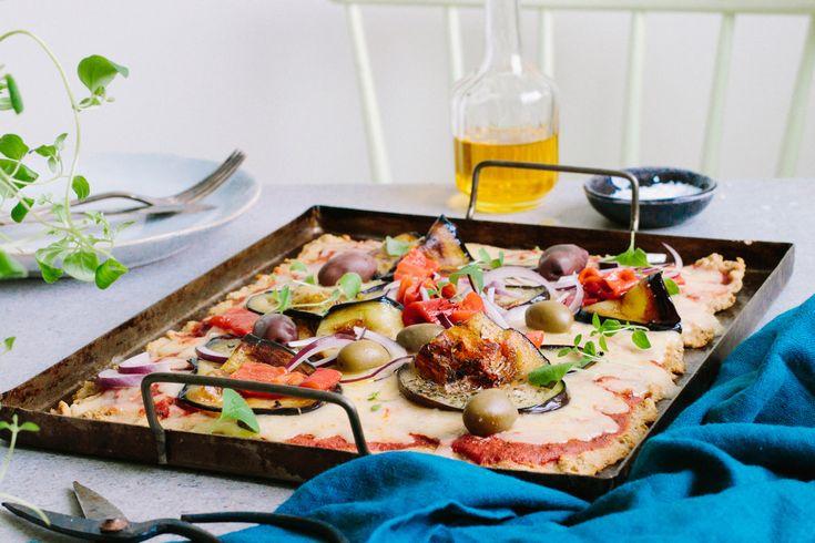 Vegetarisk LCHF-pizza – snabb och enkel