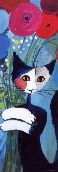 Los famosos gatos de Rosina Wachtmeister son un preciado objeto de deseo. Este es un espectacular puzzle de HEYE que mide 94,5 x 32,8 cm y tiene 1000 piezas.
