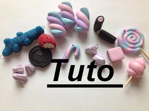 Tuto Fimo - Bonbons - YouTube