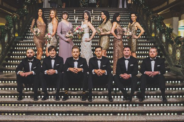 New Year's Eve cleveland wedding - photo by Suzuran Photography http://ruffledblog.com/new-years-eve-cleveland-wedding