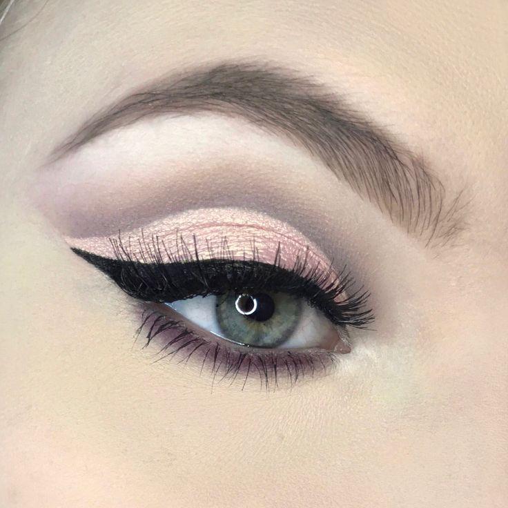 Frühlingshaftes Augen Make-Up - Kreiert von @nk_make_up mit der En Taupe Palette von Zoeva.   Eye Makeup for springtime - created by nk.make.up with the En Taupe palette by Zoeva.