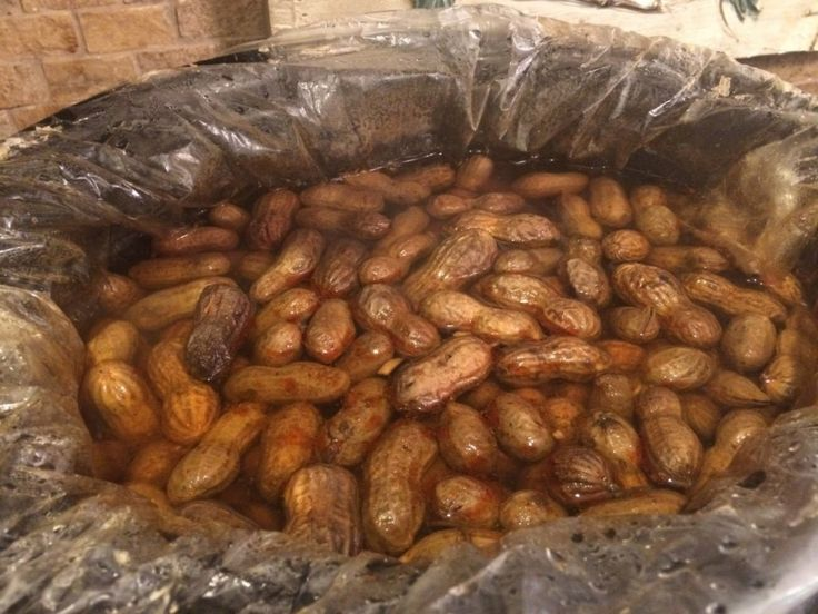 Cajun Boiled Peanuts just like the ones in gas stations in the South.