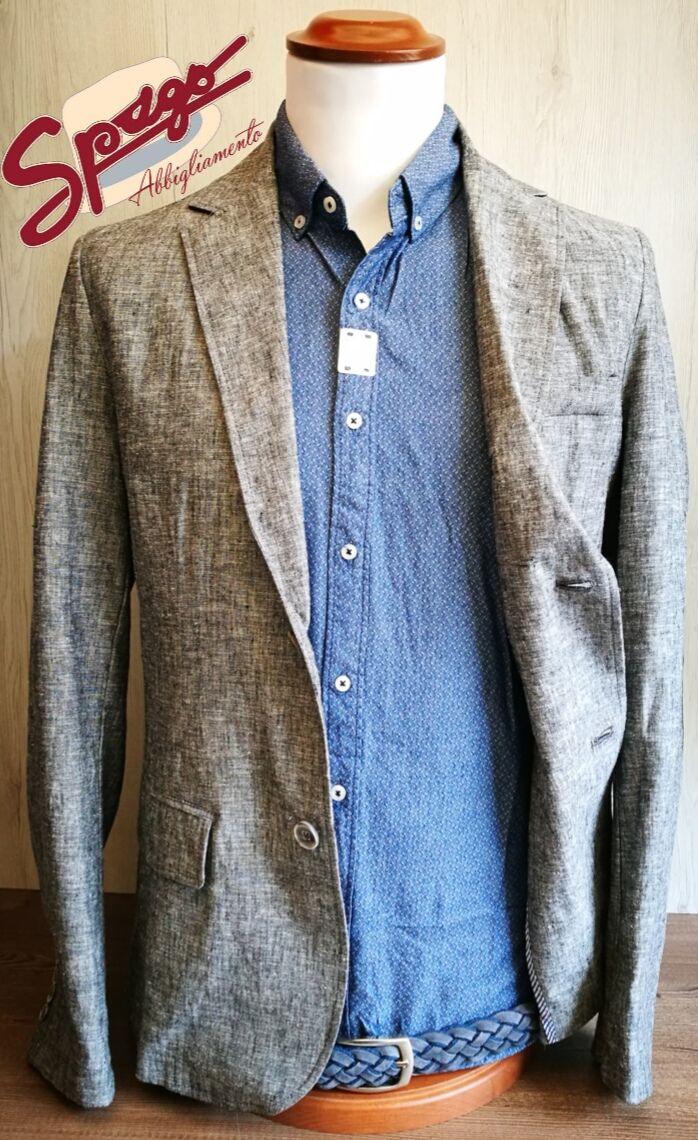 ✨✨ NUOVA COLLEZIONE ✨✨  Giacca in lino - Made in Italy Camicia Cintura in pelle - Made in Italy  👉🏼👉🏼 www.spagoabbigliamento.it  #SpagoAbbigliamento #AbbigliamentoUomo #SpagoUomo #AccessoriUomo #NuoviArrivi #NuovaCollezione #NewCollection #SpringSummer2017 #Outfit #Proposta Ravenna24Ore Abbigliamento Uomo