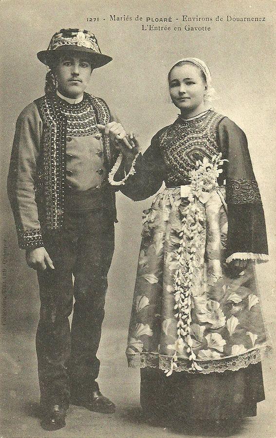 Mariés de Ploaré. Bretagne