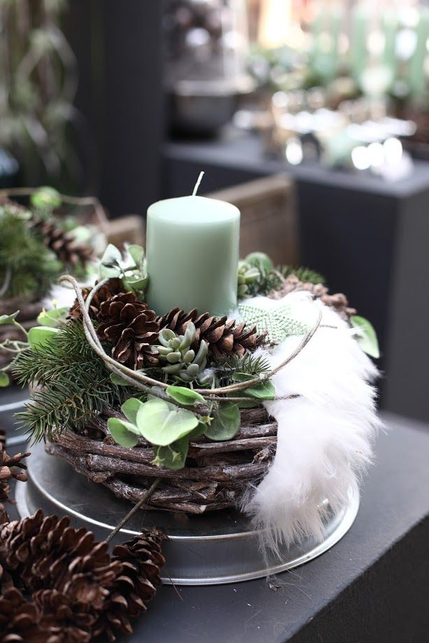 """Foto in """"Weihnachtliche Gesteckideen 2016 Teil 1"""" - Google Fotos"""