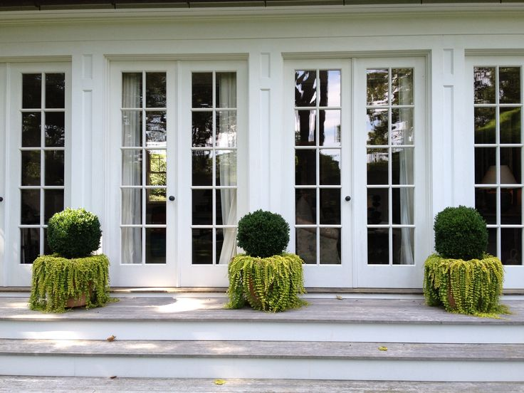 Best 25 narrow french doors ideas on pinterest for Triple french doors exterior