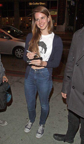 Lana Del Rey - street style