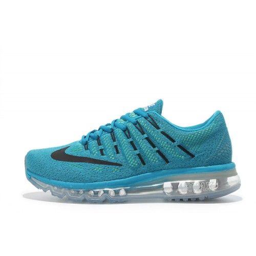 Billig Nike Air Max 2016 Herr Dam Blå Löparskor