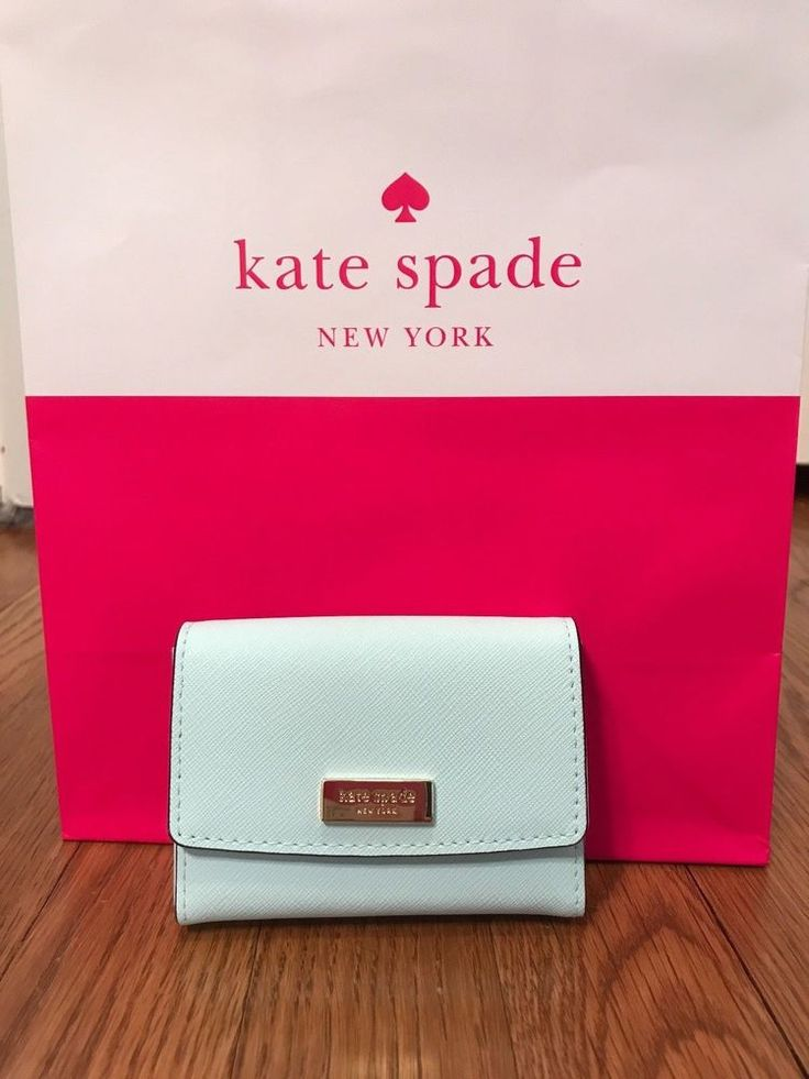 Kate Spade New York Saffiano Leather Card Case Wallet #katespadenewyork #MiniWallet