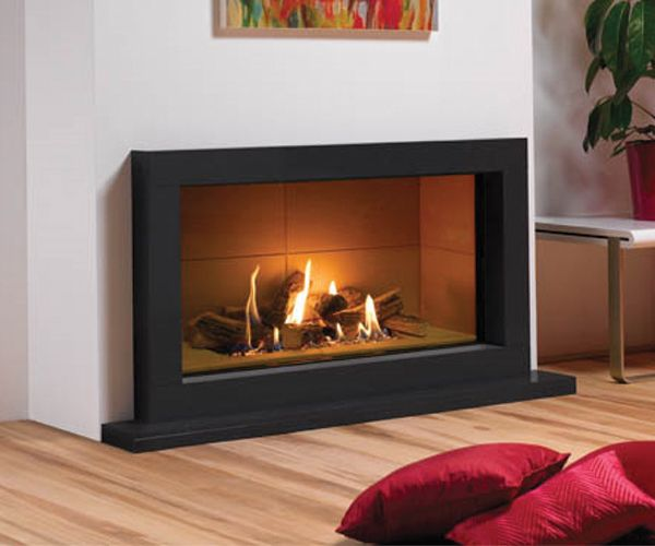 Log Effect Gas Fire Frameless Or Choice Of Surrounds
