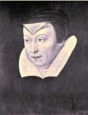 Portrait de Catherine de Médicis.- Catherine de Médicis mène une politique toute de souplesse: catholique sans enthousiasme, plus préoccupée par l'Etat que par la Religion, elle tente, conseillée par le chancelier de l'Hospital, de réconcilier catholiques et protestants par le colloque de Poissy en 1561, la paix d'Amboise en 1563 et la paix de St-Germain en 1570; elle espérait par là obtenir l'appui de l'Angleterre et des protestants d'Allemagne pour tenir en échec la puissance espagnole.