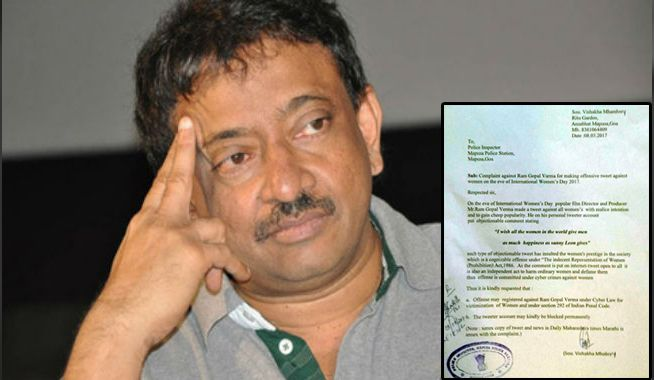 Ram Gopal Varma In Legal Trouble After His Cheap Comments On Women's Day