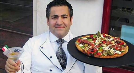 A pizza mais valiosa do mundo #pizza #007 #luxury #gastronomia #ouro #criativo