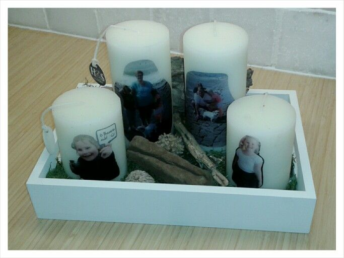 DIY a la Kell - Foto op kaarsen maken! Leuk als cadeau! (En echt niet moeilijk!)