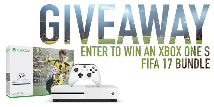 FIFA 17 and Xbox Giveaway from World Soccer Shop