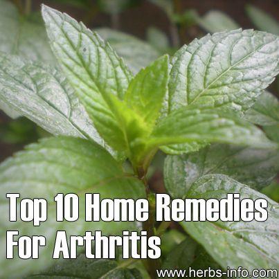 Top 10 Home Remedies For Arthritis - Blog