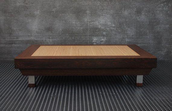 tavolino da salotto moderno tavolo legno di EbanisteriaCavallaro