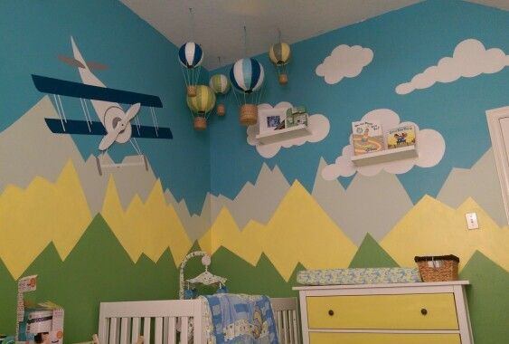 Travel Themed Bedroom For Seasoned Explorers: 17 Best Ideas About Clouds Nursery On Pinterest