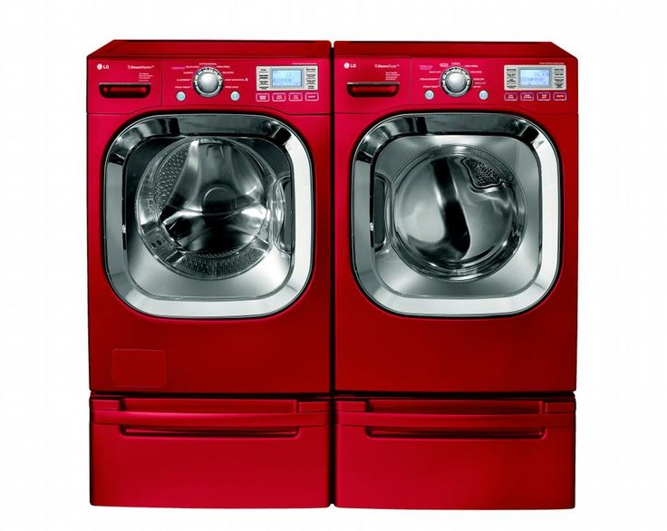 iu0027ve always wanted a red washer and dryer love it
