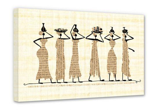 Canvas - Canvas Egyptische Vrouwen