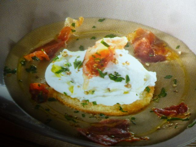 crema funghi porcini - e uova in camicia