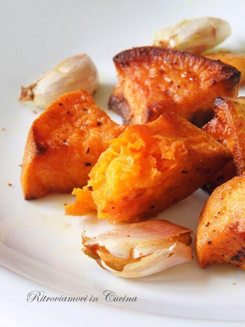 Patate dolci arrosto - Ritroviamoci in Cucina.