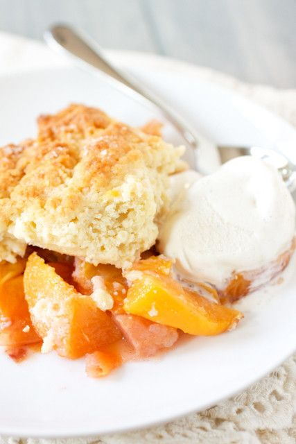 Make your Nana proud with Grandma's Best Peach Cobbler. This homemade peach cobbler calls for fresh, ripe peaches, not canned peaches. The fresh fruit makes the dessert taste as delicious as humanly possible.