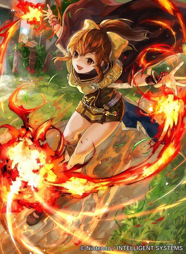 Ilustraciones completas - Delthea - Artworks e imágenes - Galería Fire Emblem Wars Of Dragons