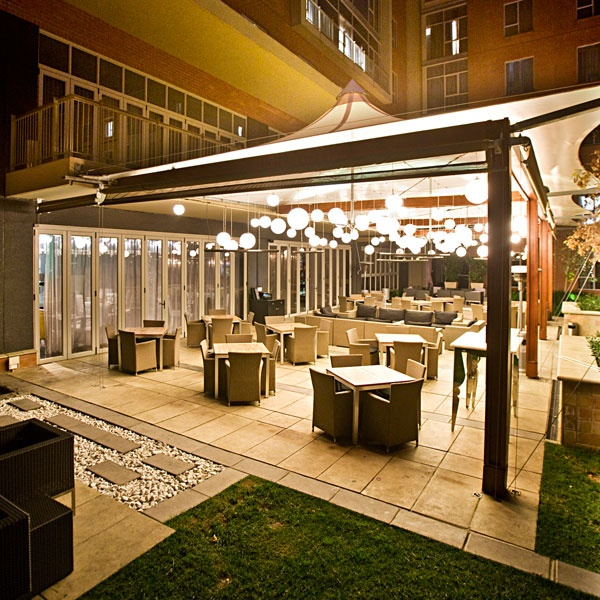 Protea Hotel Fire & Ice! Melrose Arch Deck