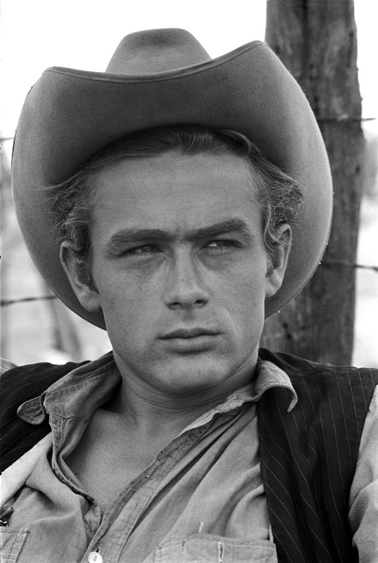 """James Dean from """"Giant""""with Liz Taylor"""