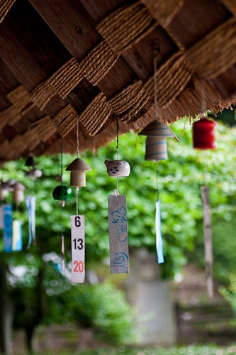 Japanese Furin (wind chimes).